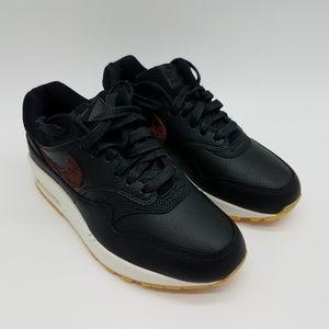 Nike Air Max 1 Premium Leather Black